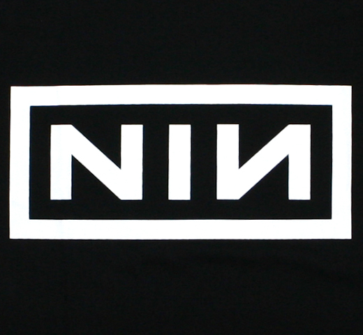 Nine Inch Nails / Classic Logo Tee (Black)
