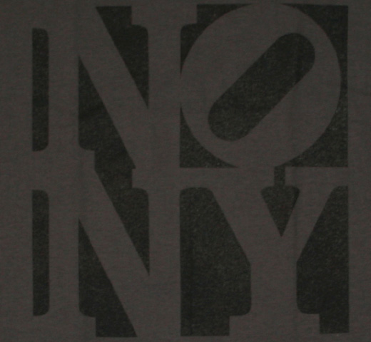 No New York Tee (Charcoal Gray)