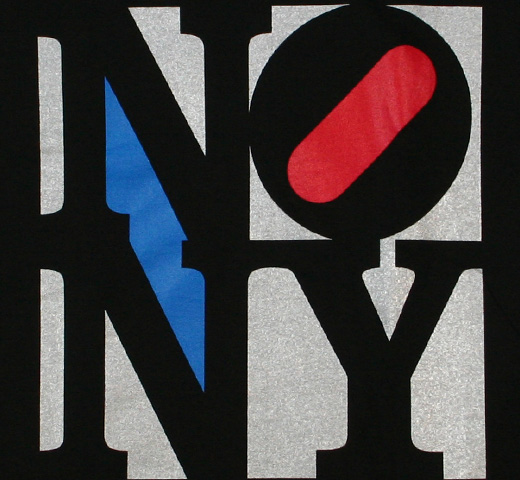 No New York Tee (Remaster) (Black)