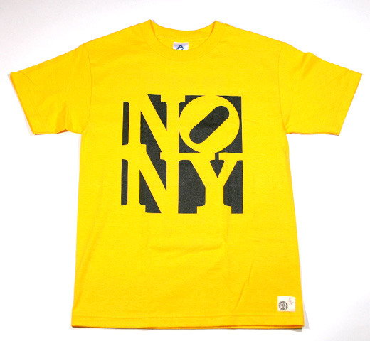 No New York Tee (Yellow)