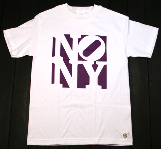 No New York Tee (White)