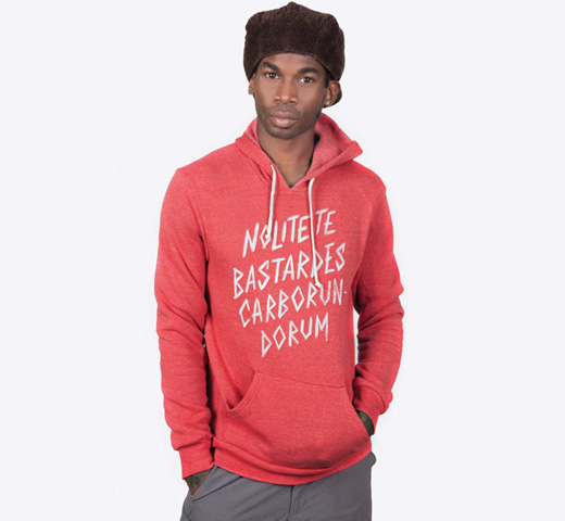 【Out of Print】 Margaret Atwood / The Handmaid's Tale Hoodie (Red)