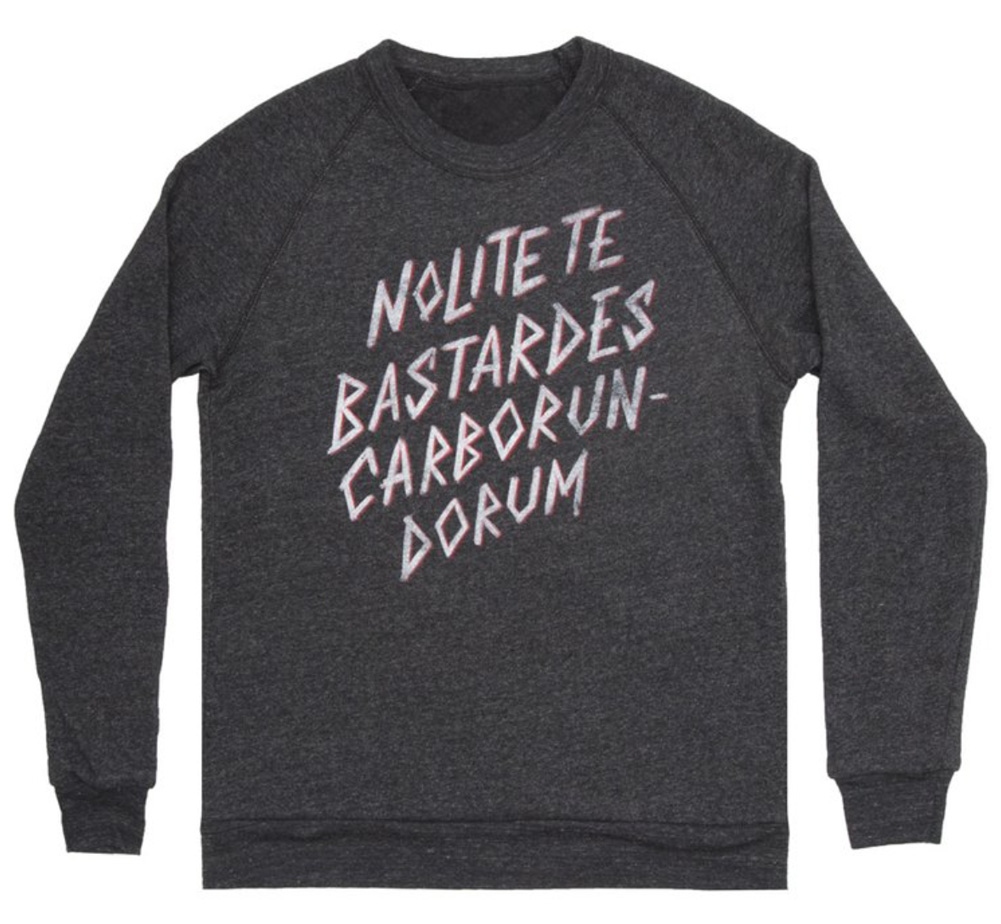 【Out of Print】 Margaret Atwood / The Handmaid's Tale Sweatshirt (Black)