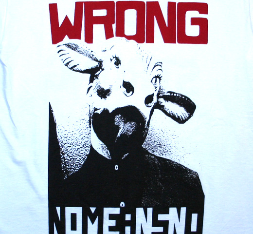NoMeansNo / Wrong Tee (White)