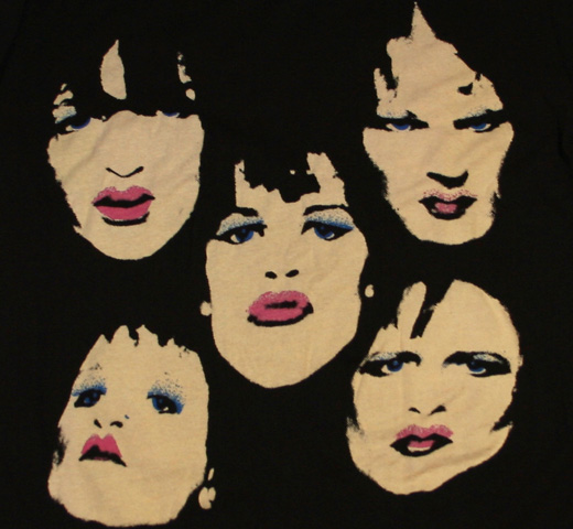 New York Dolls / 5 Faces Tee