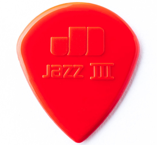 [Jim Dunlop] Nylon Jazz III Guitar Pick (47R3N)