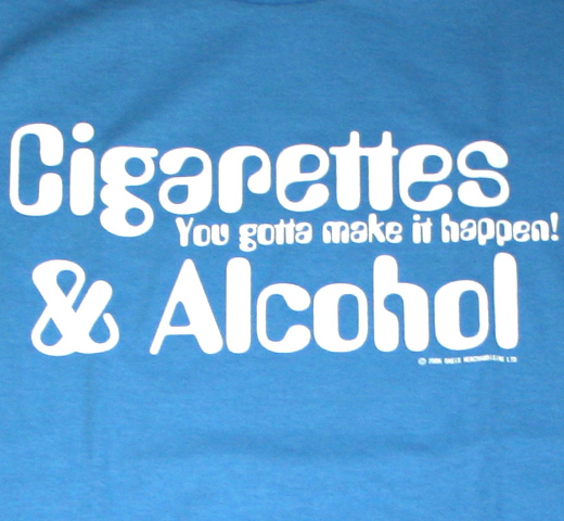Oasis / Cigarettes & Alcohol Tee (Carolina)
