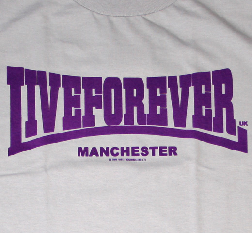 Oasis / Live Forever Tee (Silver)