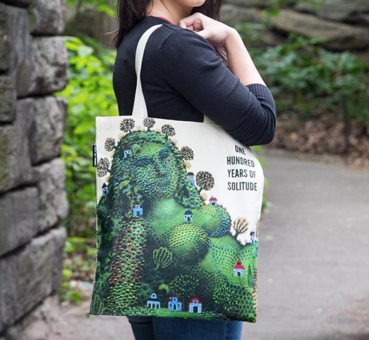 [Out of Print] Gabriel García Márquez / One Hundred Years of Solitude Tote Bag
