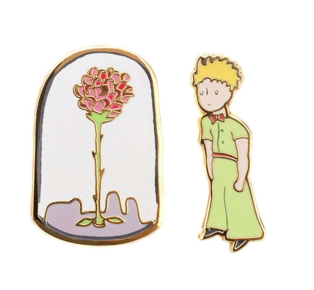 【Out of Print】 Saint-Exupéry / Le Petit Prince Enamel Pin Set