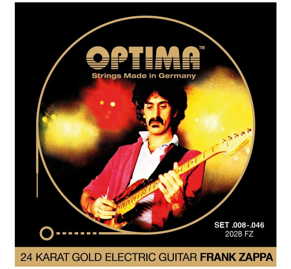 【OPTIMA】 FRANK ZAPPA Gold Strings [2028 FZ] (.008-.046)