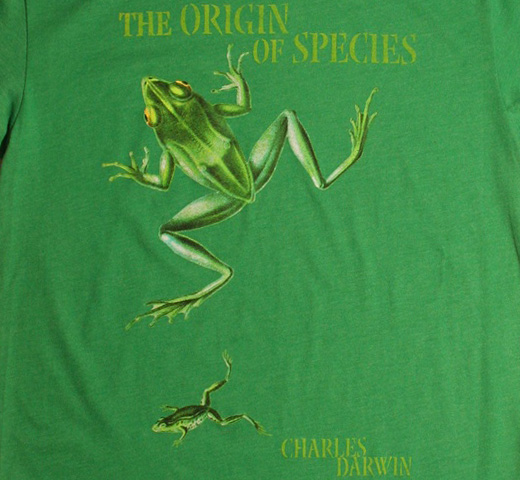 【Out of Print】 Charles Darwin / The Origin of Species (Kelly Green)