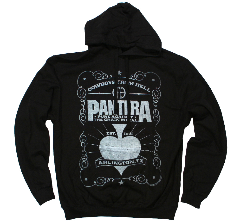 Pantera / Cowboys from Hell Hoodie (Black)