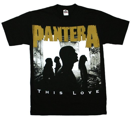 Pantera / This Love Tee (Black)