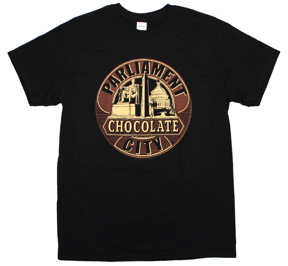 Parliament / Chocolate City Tee (Black)