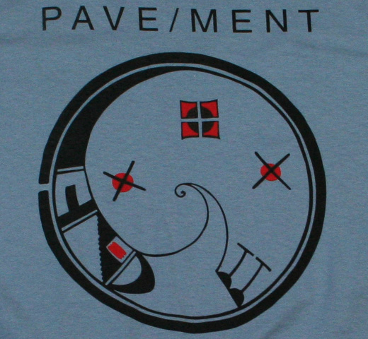 Pavement / Diagram Tee