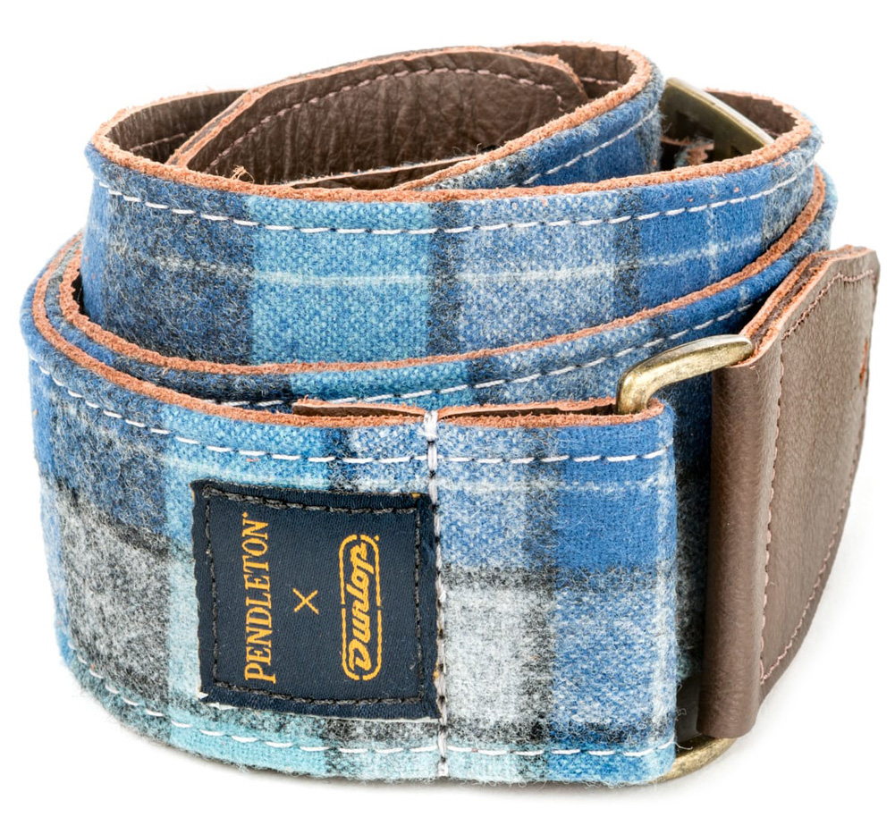 [PENDLETON × DUNLOP] Woolen Authentics Strap (Wool Original Surf Plaid) [PWM01]