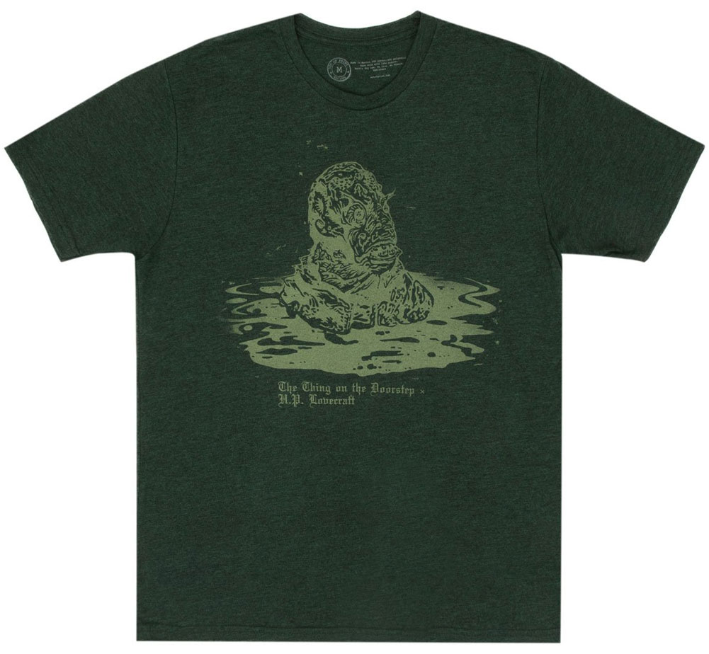 [Out of Print] H. P. Lovecraft / The Thing on the Doorstep Tee [Penguin Horror] (Black Forest)
