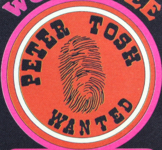 【Worn Free】 Peter Tosh / Wanted Tee (White)