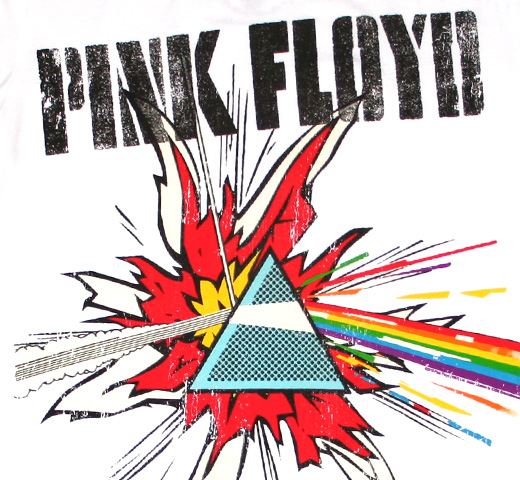 【Amplified】 Pink Floyd / Lichtenstein Tee (White)