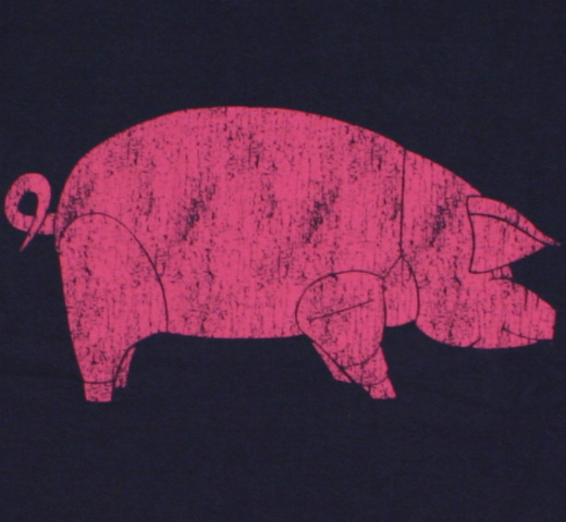 Pink Floyd / Animals Tee (Dark Navy)