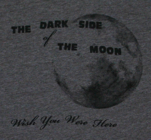 【Worn Free】 Pink Floyd / The Dark Side of the Moon Tee (Grey)
