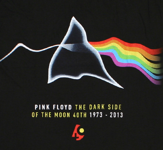 Pink Floyd / The Dark Side Of The Moon 40th Tee (Black)