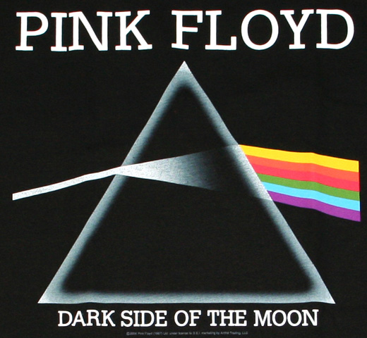Pink Floyd / The Dark Side of the Moon Tee (Black)