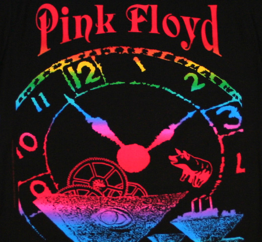 Pink Floyd / Rose Bowl Tee (Black) (Womens)