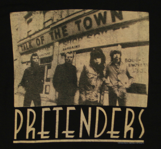 Pretenders / Talk of the Town Tee
