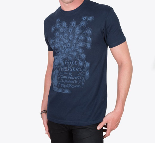 [Out of Print] Jane Austen / Pride and Prejudice Tee (Midnight Navy)