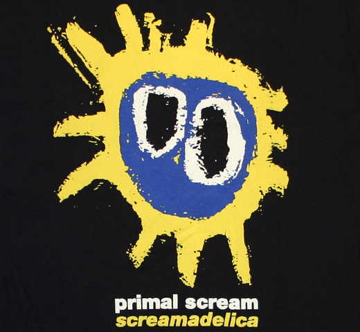 Primal Scream / Screamadelica Tee (Black)