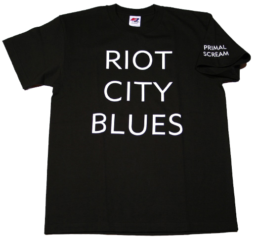 Primal Scream / Riot City Blues Tee