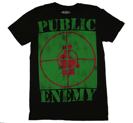 Public Enemy / Fight Fists Tee