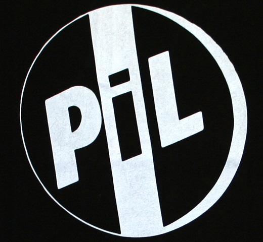 【Worn By】 Public Image Ltd / PiL Logo Tee (Black)