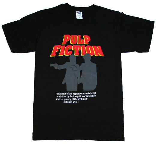 Pulp Fiction / Divine Tee (Black)