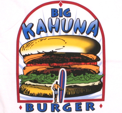 Pulp Fiction / Big Kahuna Burger Tee (White)