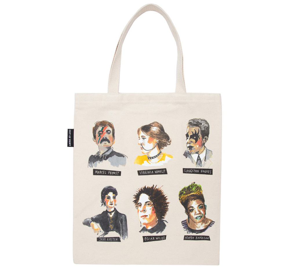 【Out of Print】 Punk Rock Authors Tote Bag 2