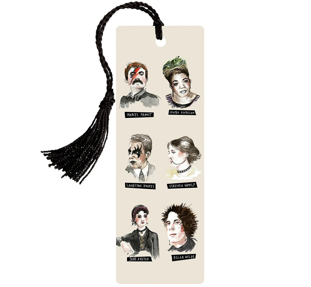 [Out of Print] Punk Rock Authors Bookmark