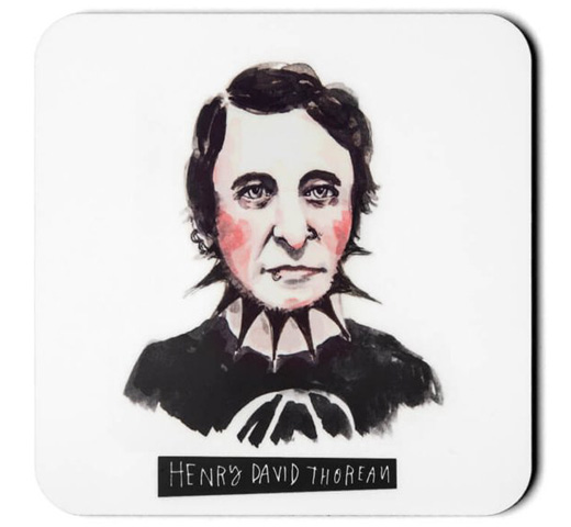 [Out of Print] Punk Rock Authors Coaster Set