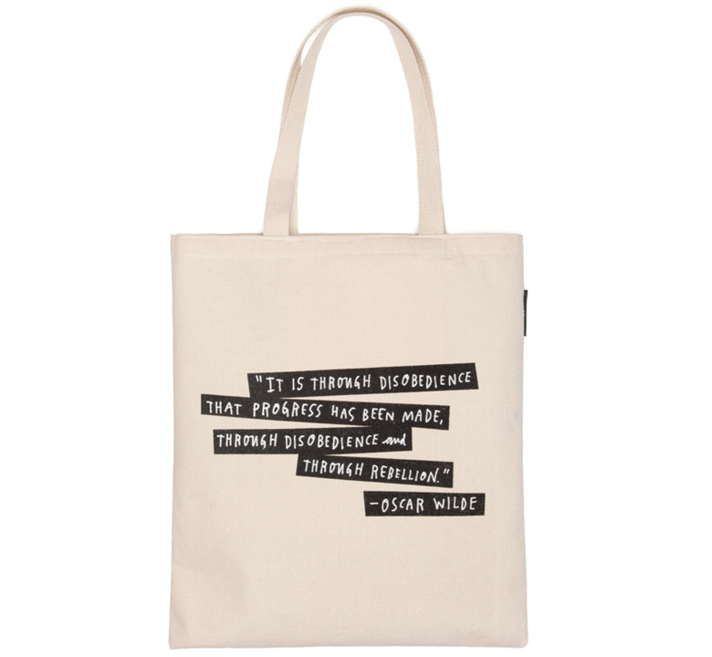 【Out of Print】 Punk Rock Authors Tote Bag