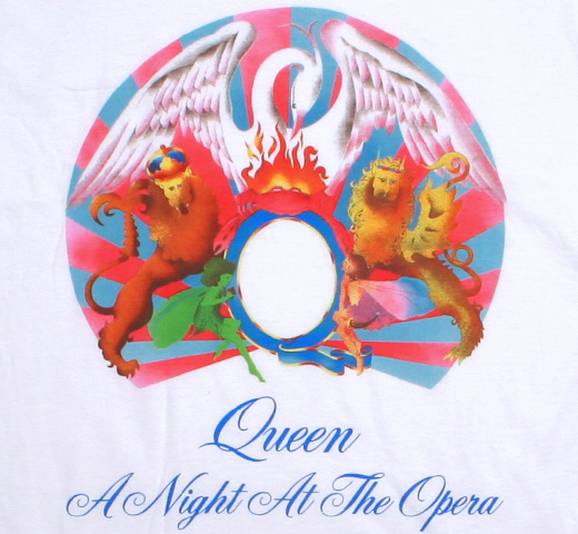 Queen / A Night at the Opera Tee (White)