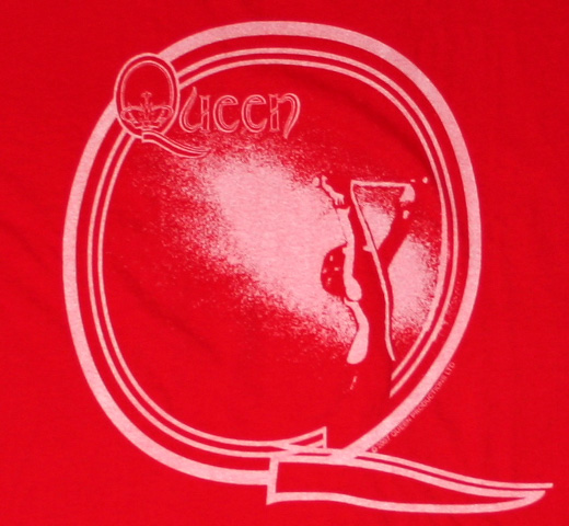 【Worn Free】 Queen / Freedie Tee (Red)