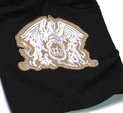 Queen / Applique Motifs Tee (Navy Blue)
