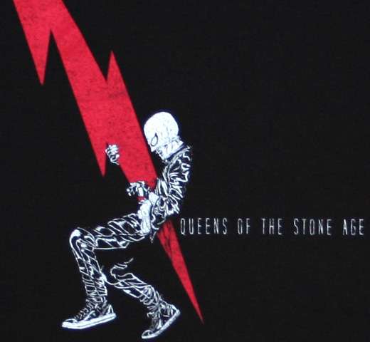 Queens of the Stone Age / Lightning Dude Tee (Black)