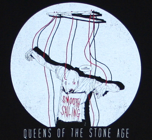 Queens of the Stone Age / Smooth Sailing Tee (Black)