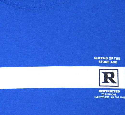 Queens of the Stone Age / Rated R Tee (Royal Blue)