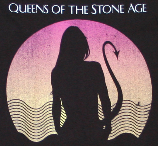 Queens of the Stone Age / Succubus Tee (Vintage Black)