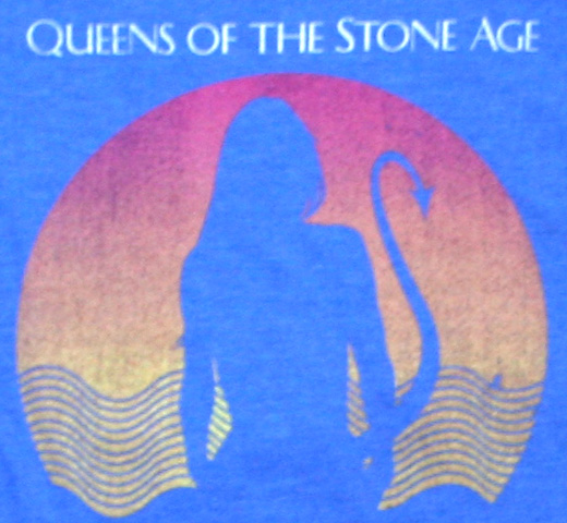 Queens of the Stone Age / Succubus Tee (Heather Royal)