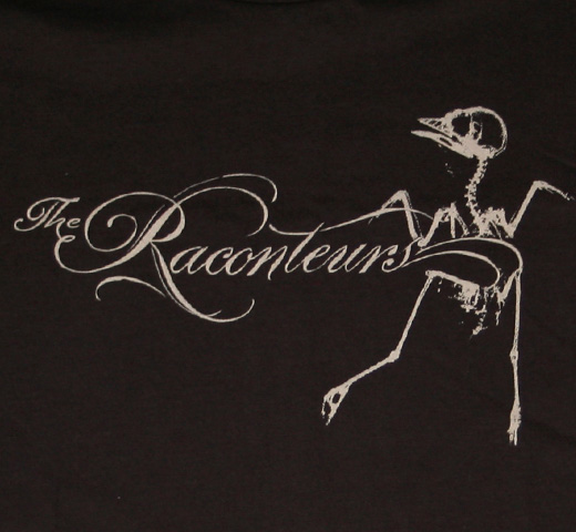 The Raconteurs / Bird Tee (Black)
